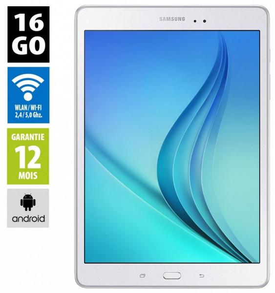 """Samsung Galaxy Tab A - 9,7"""" 16 Go - Wifi - Blanc"""