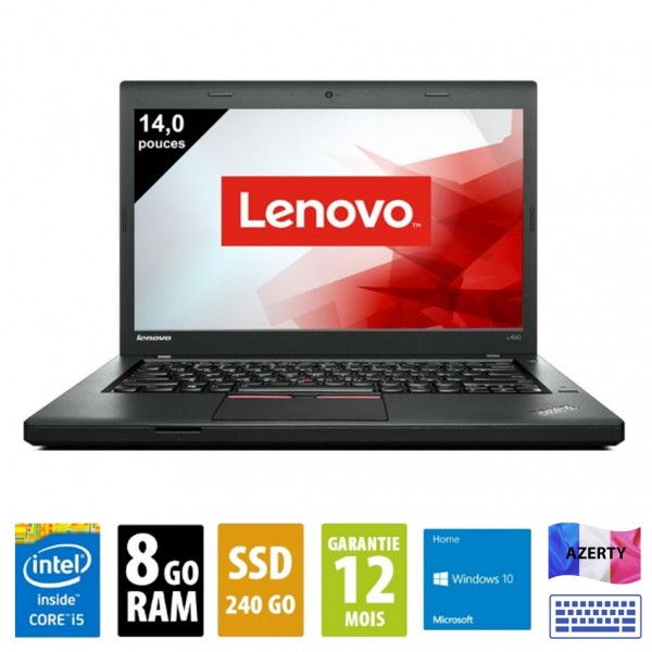 Lenovo L460 d'occasion reconditionné