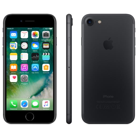 Apple iPhone 7 - 32Go - Noir de Jais -  reconditionné - Grade A+