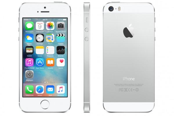 Apple iPhone 5S 16Go argent reconditionné