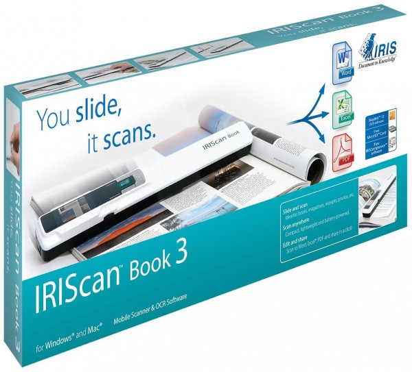 Scanner IRIScan Book 3 - neuf - sous blister