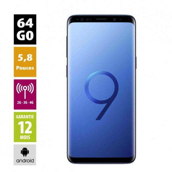 Samsung galaxy s9 d'occasion reconditionné grade A+