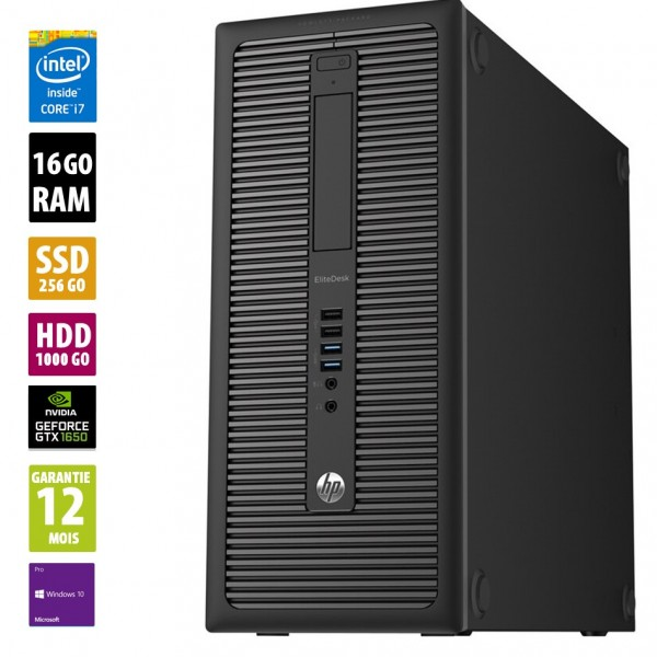 HP800 G1 TWR d'occasion reconditionné