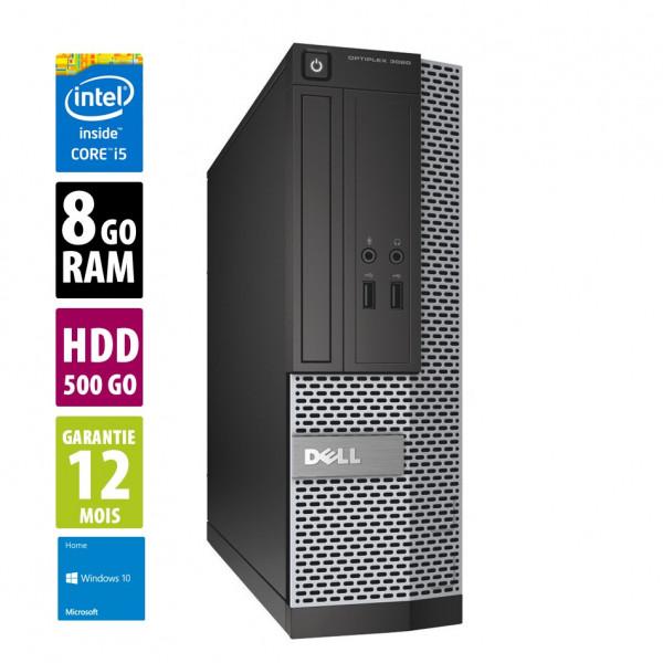 Dell Optiplex 3020 USFF - Core i5-4590@3.30GHz - 8Go RAM - 500Go - Windows 10 Home