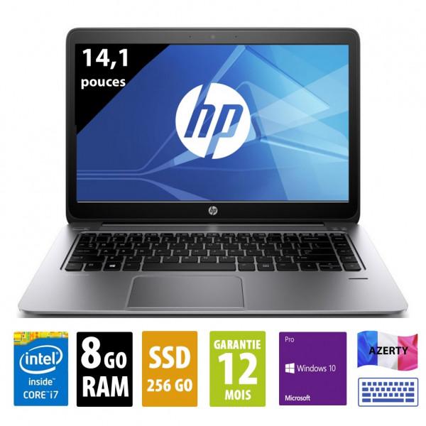 HP Elitebook Folio 1040 G1 - 14,1 pouces - Core i7-4600U@2,10GHz - 8Go - 256Go SSD - 1600x900 (WSXGA) - Windows 10 Pro