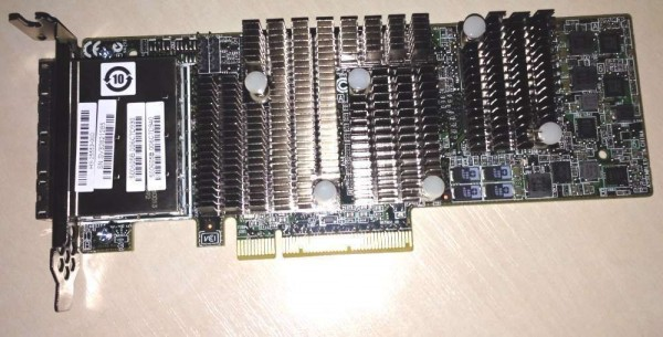 Carte SAS Dell - 01V1W2 - 6GB/s PCI-Express 4-Port SAS I/O Controller