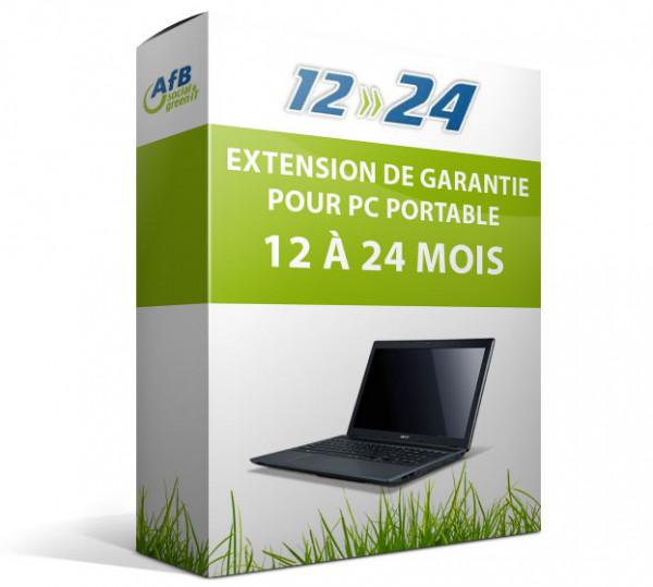 Extension de garantie pour PC portable - 12 à 24 mois