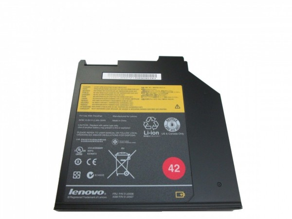 Batterie supplémentaire Lenovo - type 42 - Thinkpad R400, T400, T410, T420 - Occasion