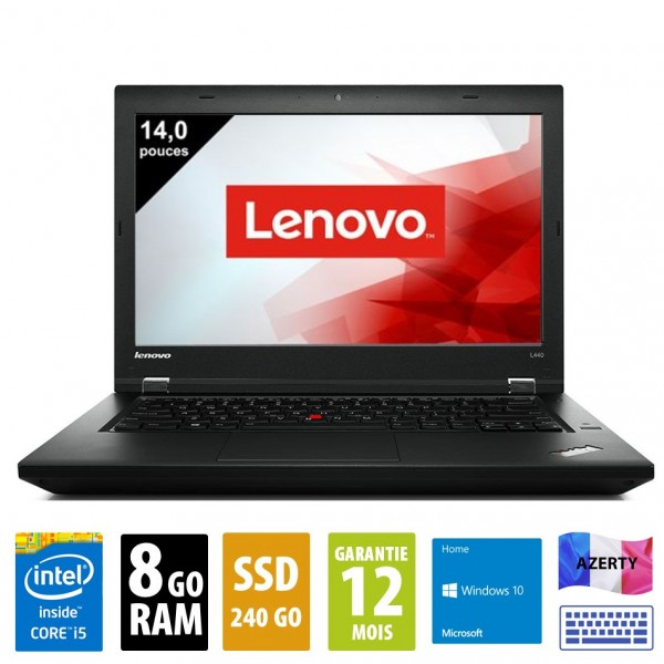 Lenovo L440 d'occasion reconditionné