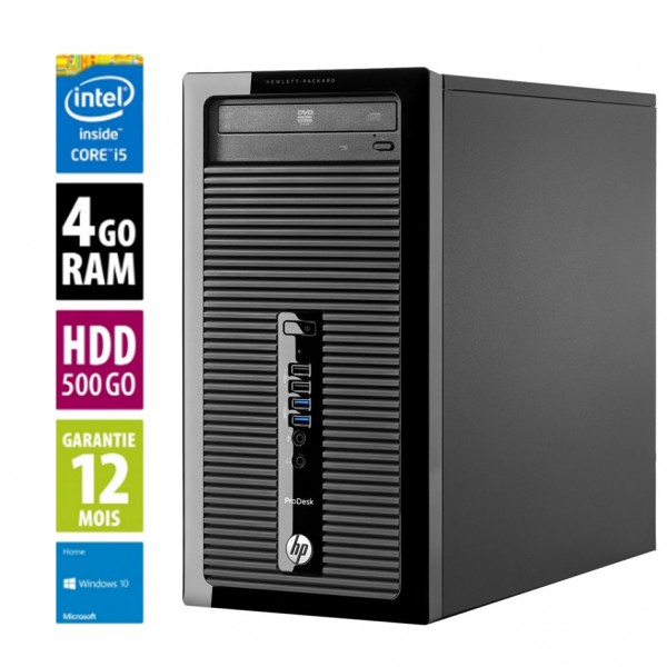 HP 400 G2 MT d'occasion reconditionné