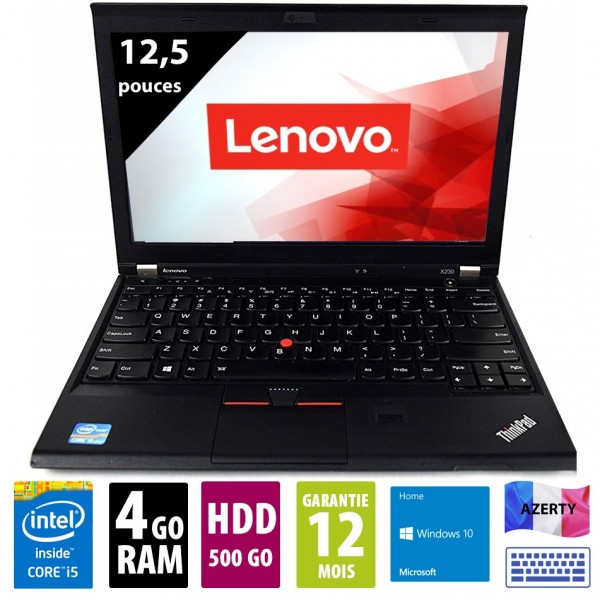 Lenovo Thinkpad X230 d'occasion reconditionné