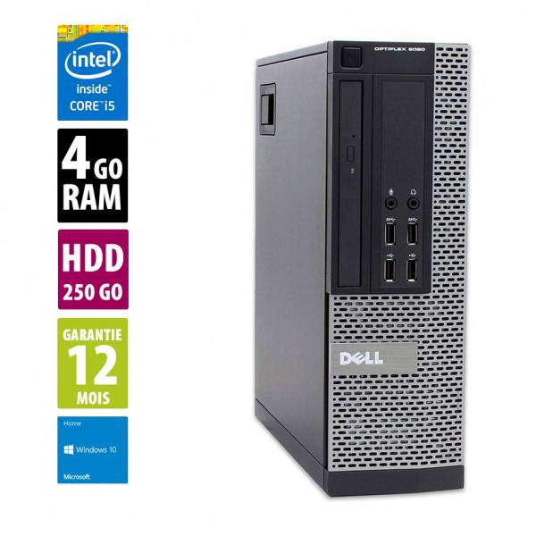 Dell Optiplex 9020 SFF - Core i5-3470@ 3.20GHz - 4Go RAM - 250Go HDD - Windows 10 Home