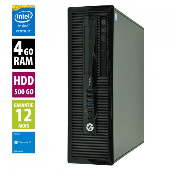 HP ProDesk 400 G1 SFF- G3220 @3.00GHz - 4Go RAM - 500Go HDD - Windows 10 Home