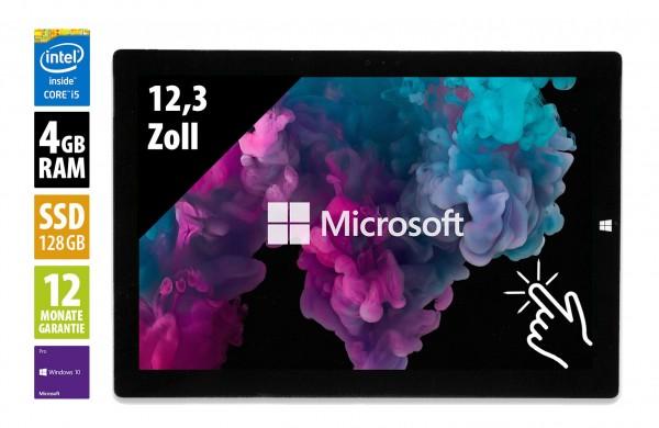 """Surface Pro 3 i5-4300U - 1.9Ghz 4GO RAM - 128GO SSD - 12"""" - W10P - Vendu sans stylo"""
