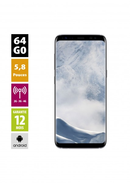 Samsung galaxy s8  d'occasion reconditionné