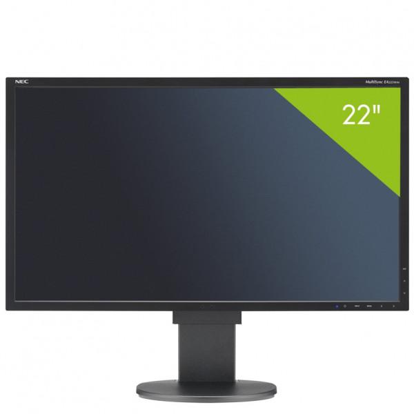 Écran 22 pouces NEC MultiSync EA223WM - Cadre noir