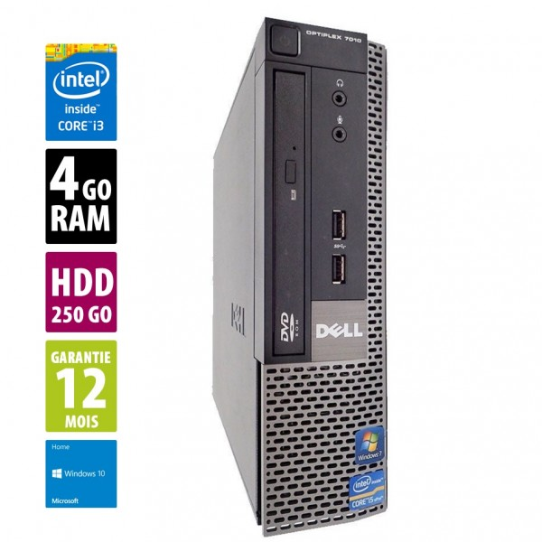 Dell Optiplex 7010 usff d'occasion reconditionné