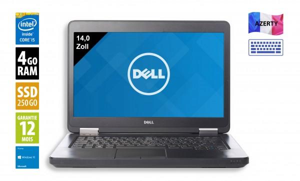 Dell Latitude E5440 - 14 pouces - Core i5-4300U@1.90GHz - 4Go RAM - 250Go SSD - WXGA (1366x768) - Windows 10 Home