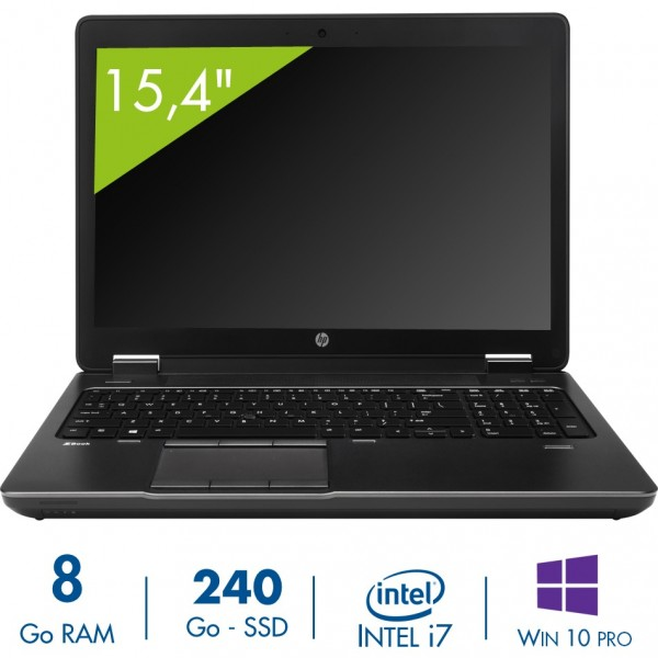HP ZBook 15 d'occasion reconditionné