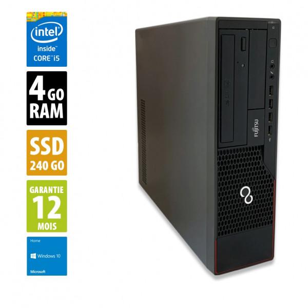 FUJITSU Esprimo E710 E85+ - Core i5-3470@3.20GHz - 4Go - 240Go SSD - Windows 10 Home