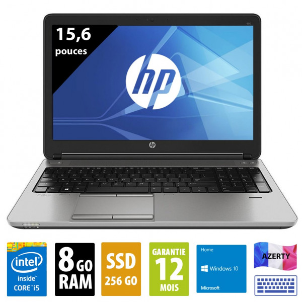 HP 650 G1 d'occasion reconditionné