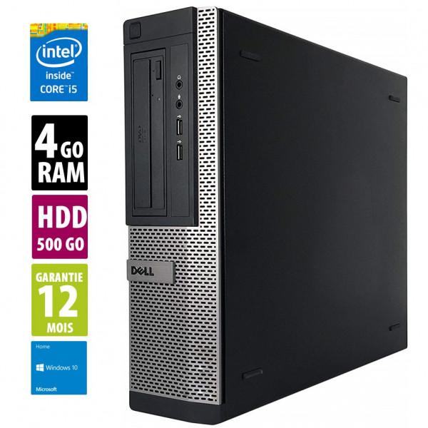 Dell Optiplex 990 SFF - Core i5-2400@3.10GHz - RAM 4Go - HDD 500Go - Windows 10 Home