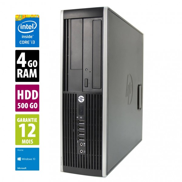 HP Compaq Elite 8200 SFF d'occasion reconditionné