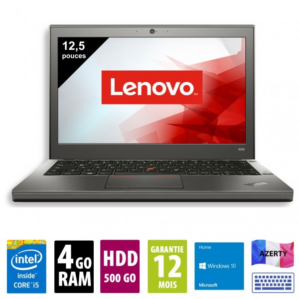 Lenovo x240 d'occasion reconditionné