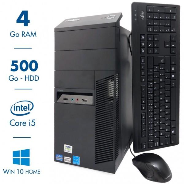 Lenovo ThinkCentre M92P - Intel Core i5 3570@3.40GHz - 4 Go RAM - 500Go - Windows 10 Home