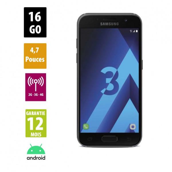 Galaxy A3 (2017) Black 16GB reconditionné - Grade B