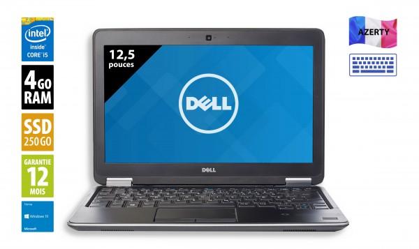Dell Latitude E7240 - 12,5 pouces - Core i5-4300U@1.90GHz - 4Go RAM - 256Go SSD - WXGA (1366x768) - Windows 10 Home