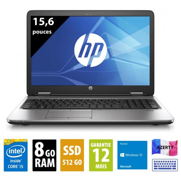 HP 650g2 d'occasion reconditionné