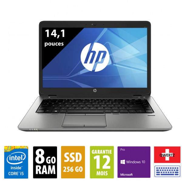 HP 840 g2 d'occasion reconditionné