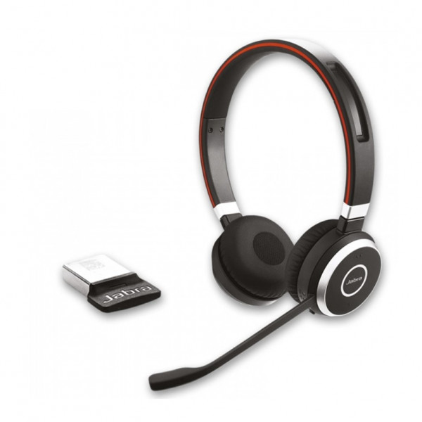 Casque Audio Evolve 65 UC MS Duo USB + Bluetooth + NFC – JABRA - Neuf
