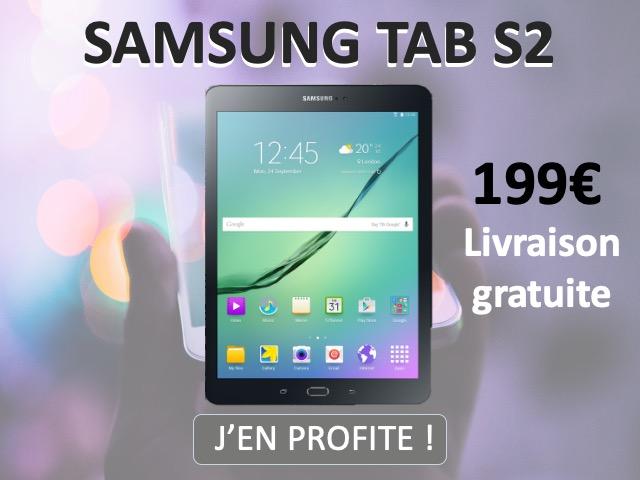 samsung galaxy tab s2 en promotion