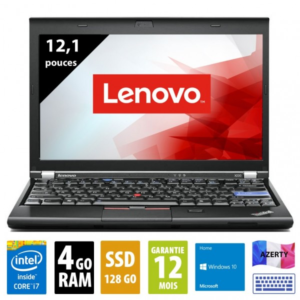 Lenovo x220 d'occasion reconditionné