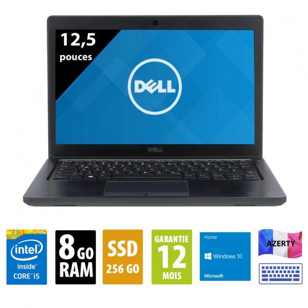 Dell Latitude 5280 - 12,5 pouces - Core i5-7300U@2,60GHz - 8Go RAM - 256Go SSD - FHD (1920x1080) - Windows 10 Home