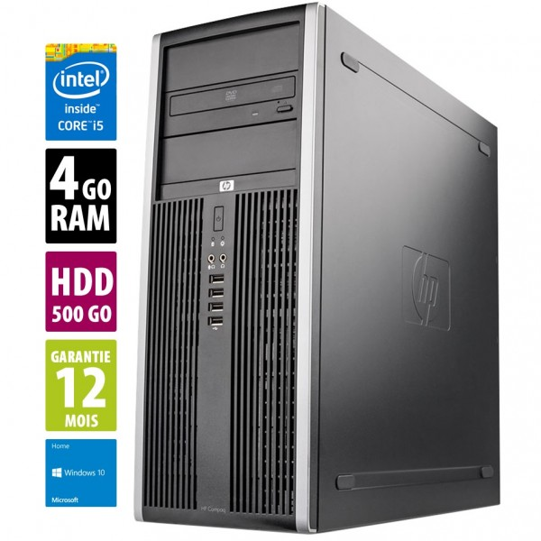 HP Compaq Elite 8100 CMT d'occasion reconditionné