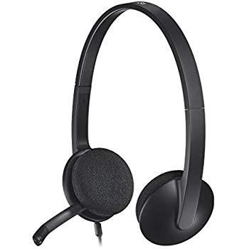 Casque-micro USB Logitech Headset H340 neuf