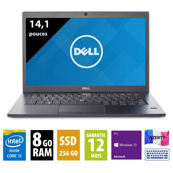 Dell Latitude 7480 - 14,1 pouces - Core i5-7300U@2.60GHz - 8Go RAM - 256Go SSD - FHD ( 1920x1080 ) - Windows 10 Pro