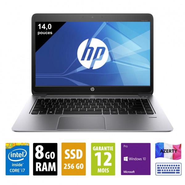 HP Elitebook Folio 1040 G2 - 14 pouces - Core i7-5600U@2.60GHz - 8Go - 256Go SSD - WSXGA (1600x900) - Windows 10 Pro