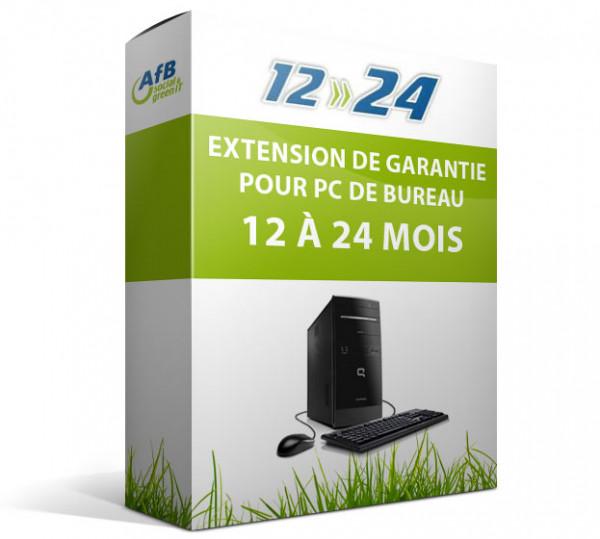 Extension de garantie pour PC de bureau - 12 à 24 mois
